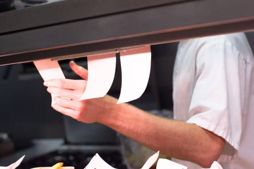 Kitchen Order Chit | Qashier