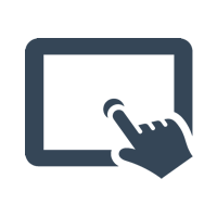 Touch Screen Logo | Qashier